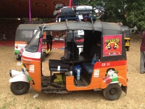 DriveDay 01: End of Day #RickshawRun