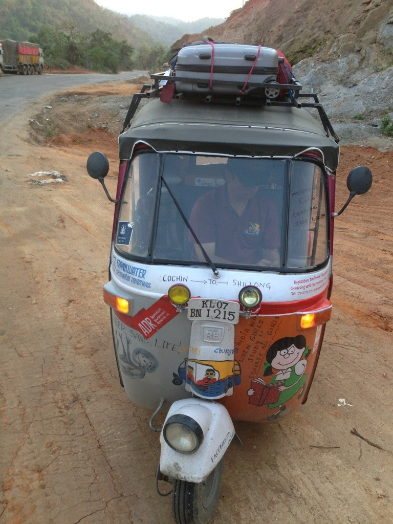 DriveDay 13: CoCo, please hold on for couple more hours! #rickshawrun #rr