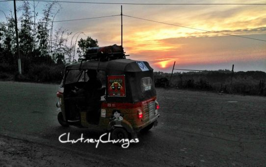 DriveDay 13: Sunset Catchers – One final time with CoCo! #rickshawrun #rr