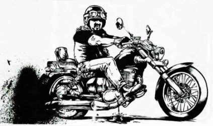 Is there an average male Indian biker?