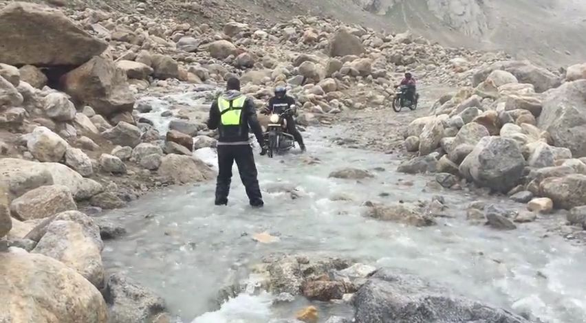 Water Crossings | Day 6 | July 10 | Kaza to Tandi