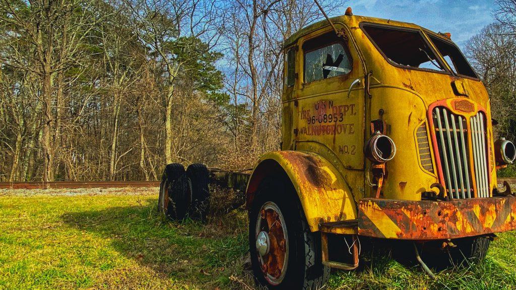 Walnut Grove 'Vintage' Fire Truck