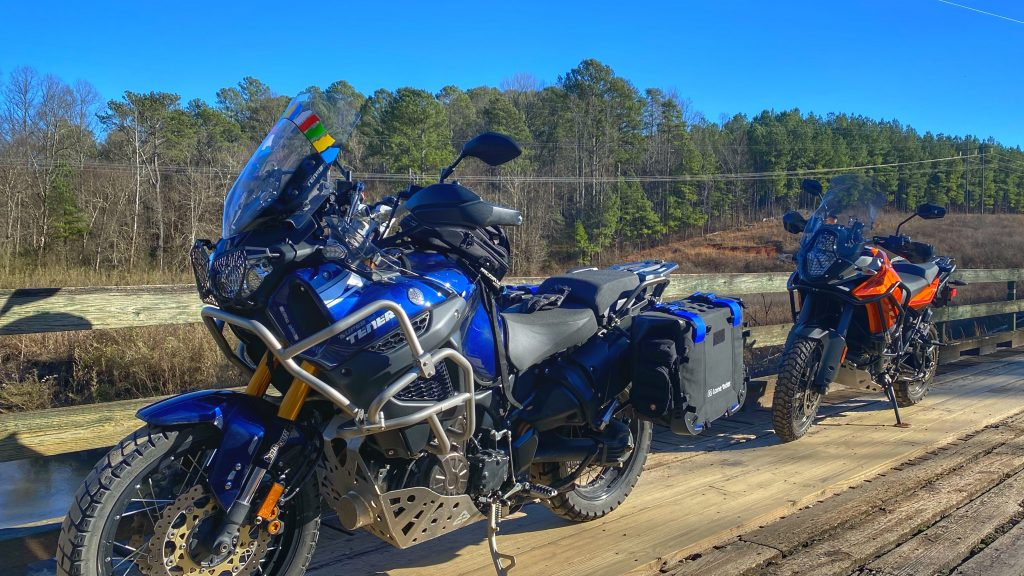 RideLog 20200105 | Back roads amble | Yamaha Super Tenere