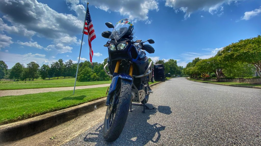 July 4th Ride on my Yamaha SuperTenere
