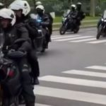 Messi moves to Paris, escorted by the Yamaha Super Tenere!